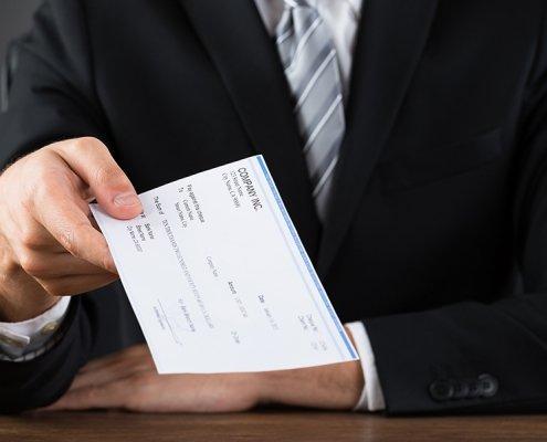 Cómo evitar la falsificación de recibos